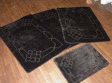 ROMANY WASHABLES TRAVELLER MATS SETS 4PCS NON SLIP NEW DESIGN SUPER THICK